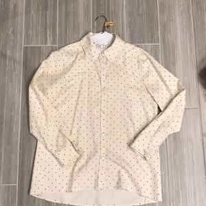 Marc by Marc Jacobs polka dot blouse, size 4
